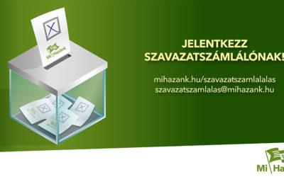 Jelentkezés szavazatszámlálónak