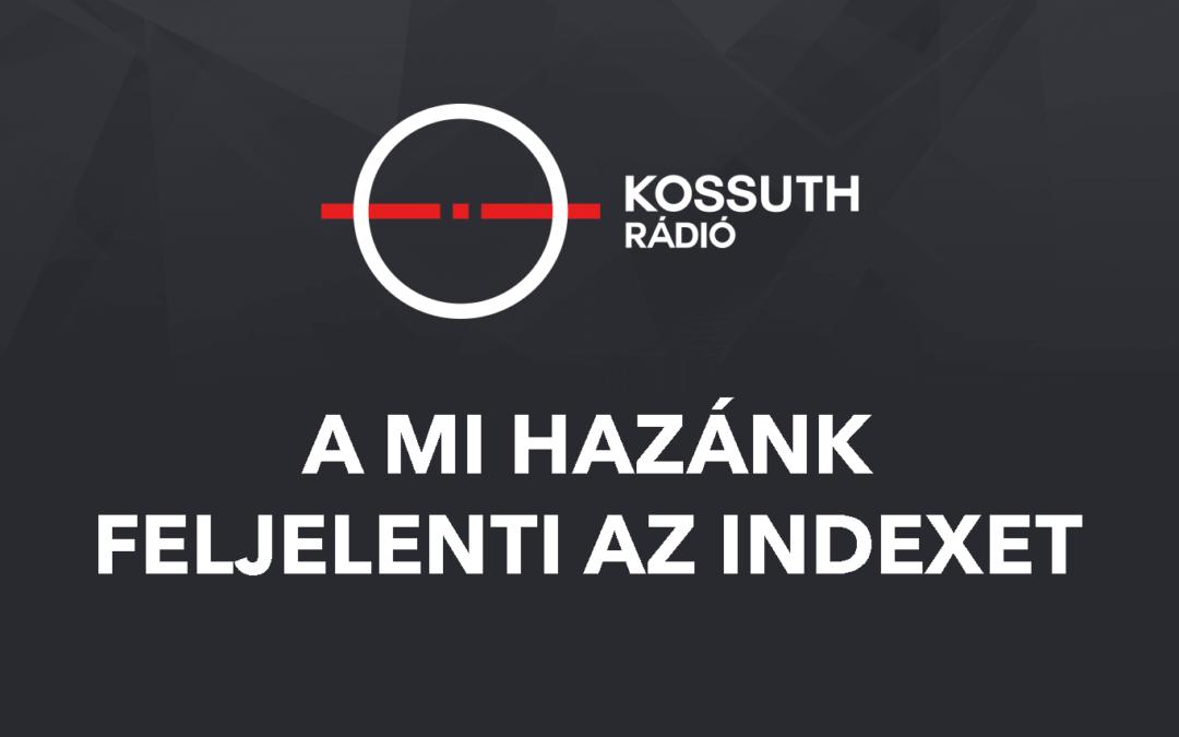 Közösség elleni izgatás miatt beperli az Indexet a Mi Hazánk