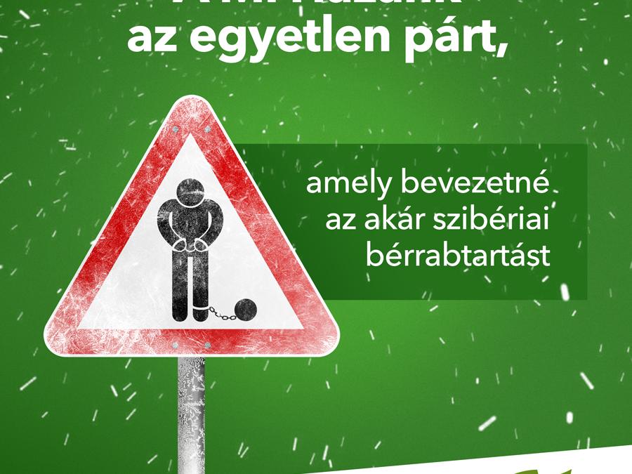 Szibériai bérrabtartást követel a Mi Hazánk