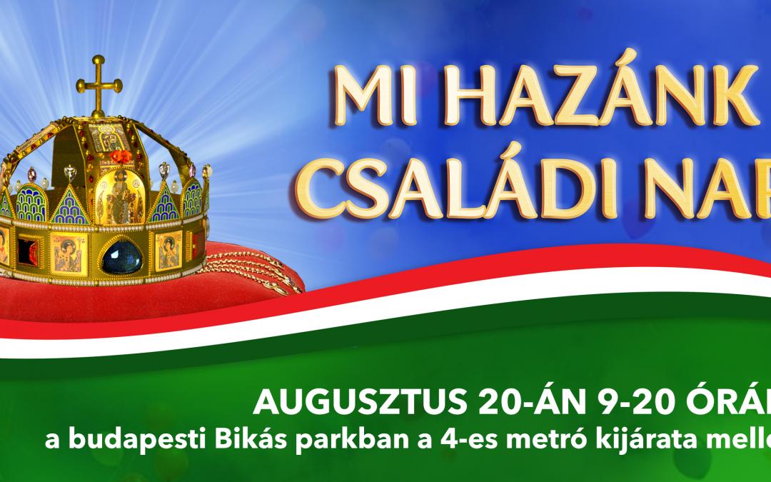 Megtartható a Mi Hazánk aug. 20-i családi napja a fővárosi Bikás parkban