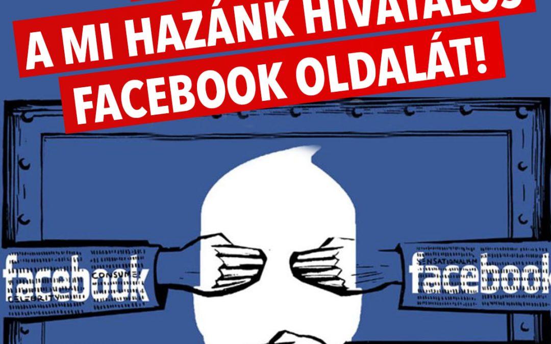 A 30 napos tiltás lejárta után sem engedi vissza a Mi Hazánk oldalát a Facebook