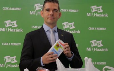 Tarolt az MSZP-s Ázsia Bolt: 16 termékből csak 2 magyar a DK-s önkormányzat élelmiszercsomagjaiban