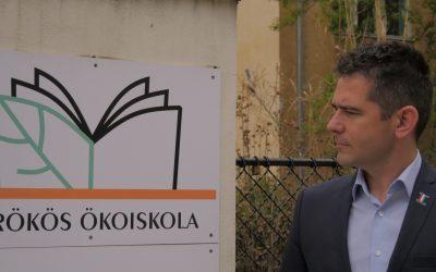 Iskolakertet árusít ki az újbudai önkormányzat, irodaház épülhet a helyén