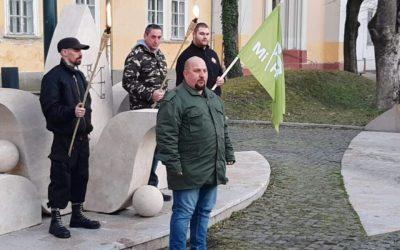 Szabó Patrik jelenti a nemzeti utat Kalocsán