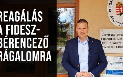 Toroczkai László reagált a Fidesz-bérencező rágalmakra