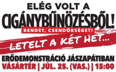 Az MSZP, a Momentum és 52 másik szervezet tiltakozása ellenére erődemonstrációt tart ma a Mi Hazánk